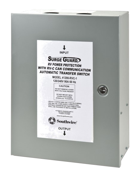 Surge guard rvc automatic transfer switch model 41390 southwire rv freerunsca Image collections