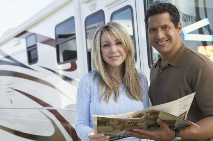 Couple Shopping for an RV