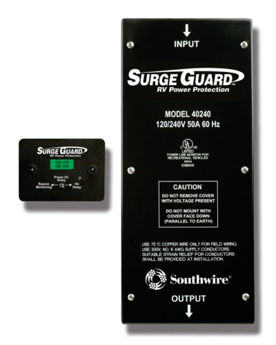 Southwire RV Hardwired Surge Protector Model 40240