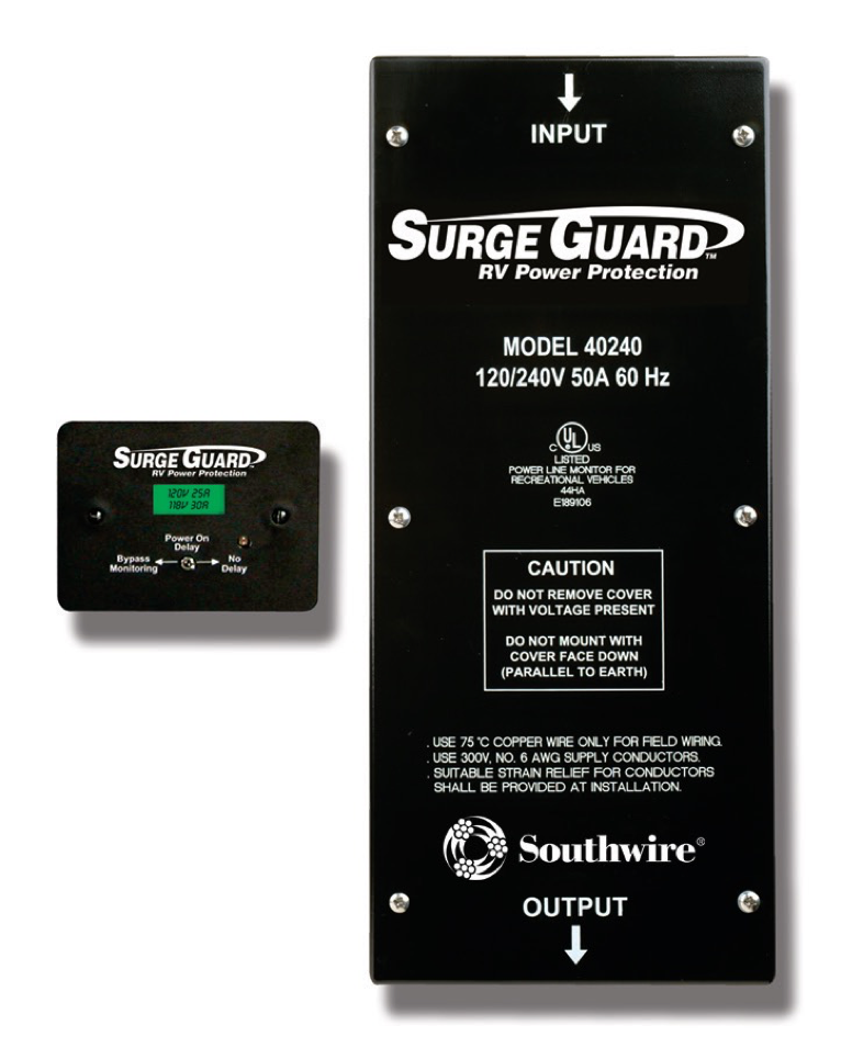 Surge Guard 50A Hardwire - Model 40240 | Southwire RV on